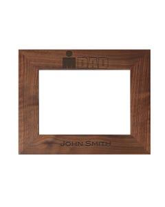 IRONDAD Personalized Photo Frame - Walnut