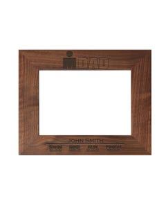IRONDAD Finisher Personalized Photo Frame - Walnut