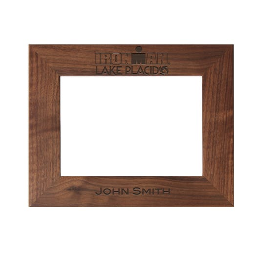 IRONMAN Event Personalized Photo Frame - Walnut
