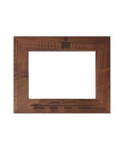 IRONMOM Finisher Personalized Photo Frame - Walnut