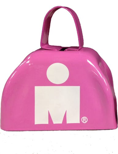 IRONMAN MDOT Cowbell - Pink