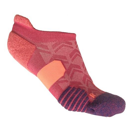IRONMAN Motion No Show Sock - Pink