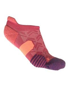 IRONMAN PR NO SHOW Run Sock - Motion Pink