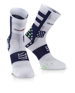 IRONMAN COMPRESSPORT Pro Racing Socks V3 Ultralight High - Blue