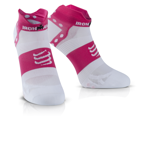 IRONMAN COMPRESSPORT Pro Racing Socks V3 Ultralight Low - Pink