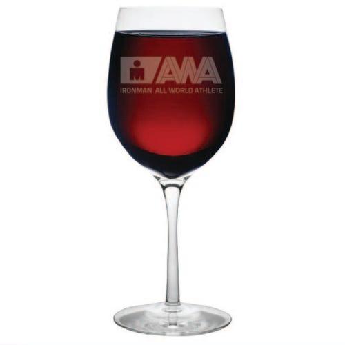 IRONMAN Customized All World Athlete Wine Glass