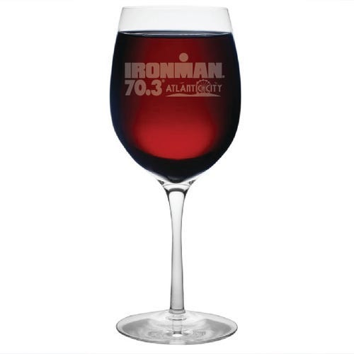 IRONMAN CUSTOMIZED WINE GLASS
