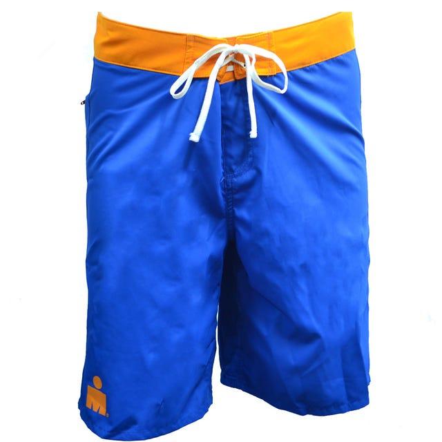 IRONMAN ROKA Men's Kona Boardshorts- Blue/Orange