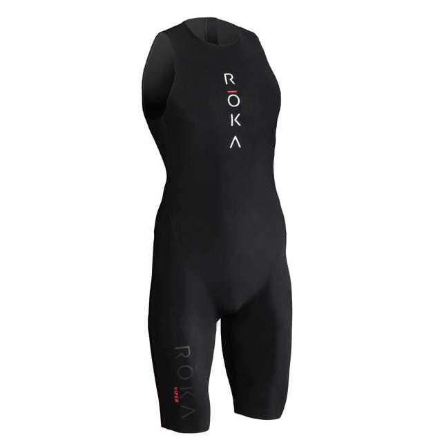 IRONMAN ROKA Men's Viper Elite Swimskin - Black