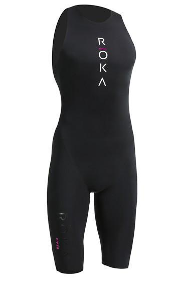 IRONMAN ROKA Women s Viper Pro Swimskin - Black c2faa19b9