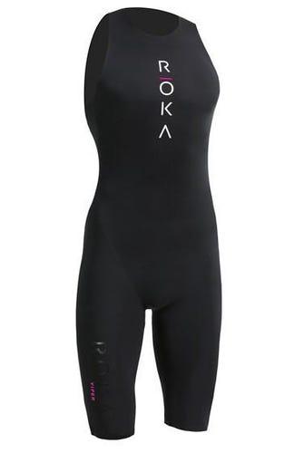 IRONMAN ROKA Women's Viper Pro Swimskin - Black