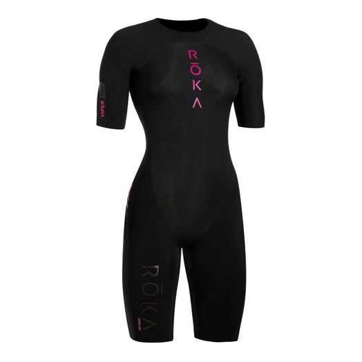 IRONMAN ROKA Women's Viper Pro Short Sleeve Swimskin