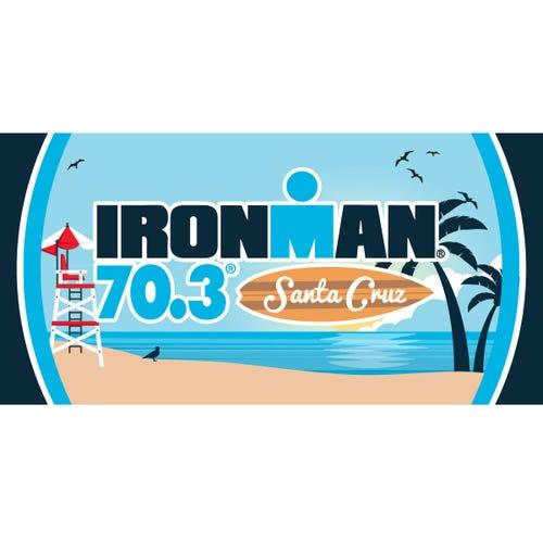 IRONMAN 70.3 Santa Cruz 2019 Event Beach Towel