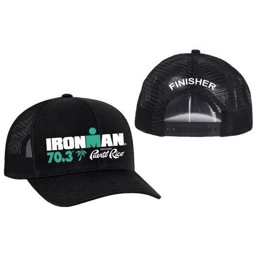 IRONMAN 70.3 Puerto Rico Finisher Custom Event Trucker Hat