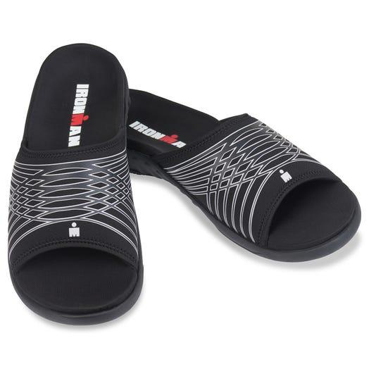 IRONMAN Men's Spenco Slide Sandals - Black
