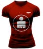 IRONMAN COMPRESSPORT Men's Smart Running Tee - MDOT Red