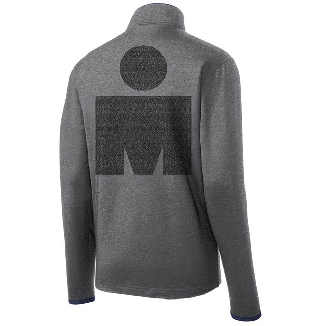 IRONMAN SANTA ROSA 2019 MEN'S FULL ZIP NAME FLEECE