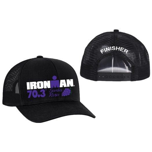 IRONMAN 70.3 Santa Rosa Finisher Custom Event Trucker Hat