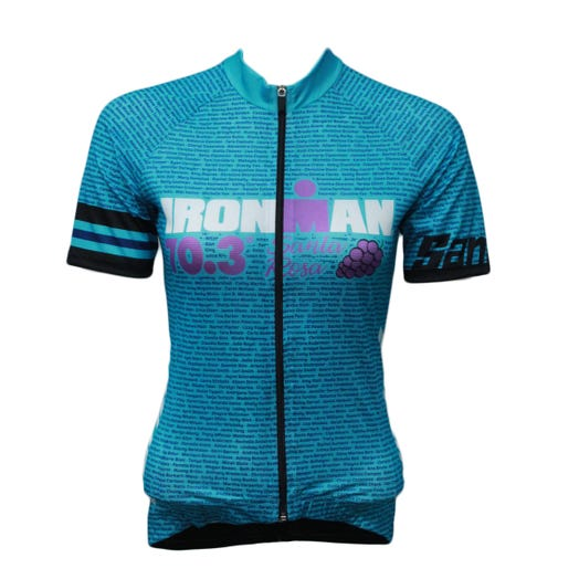 IRONMAN 70.3 SANTA ROSA 2019 WOMEN'S NAME CYCLE JERSEY