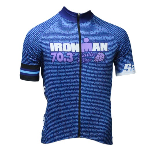 IRONMAN 70.3 SANTA ROSA 2019 MEN'S NAME CYCLE JERSEY