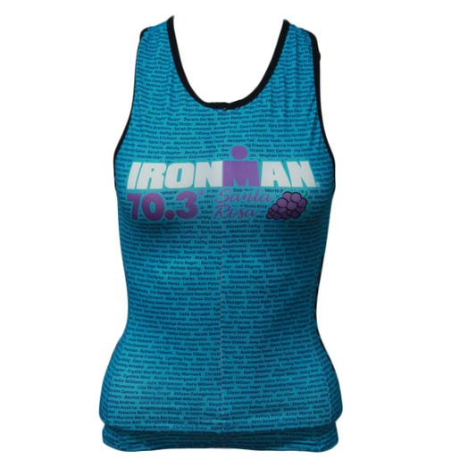 IRONMAN 70.3 SANTA ROSA 2019 WOMEN'S NAME TRI TOP