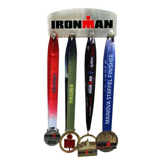 IRONMAN Stainless Steel Medal Hanger 4 knobs