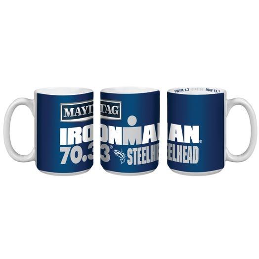 IRONMAN 70.3 STEELHEAD EVENT COFFEE MUG
