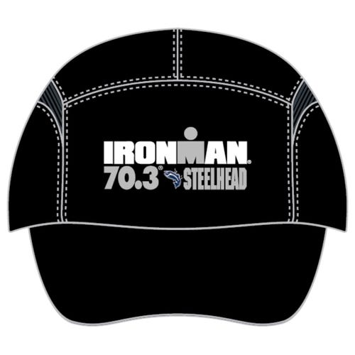 IRONMAN 70.3 STEELHEAD EVENT TECH HAT - BLACK