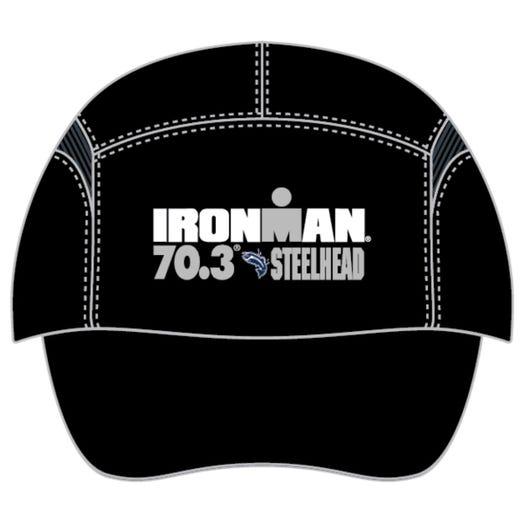IRONMAN 70.3 STEELHEAD EVENT TECH HAT - BLACK