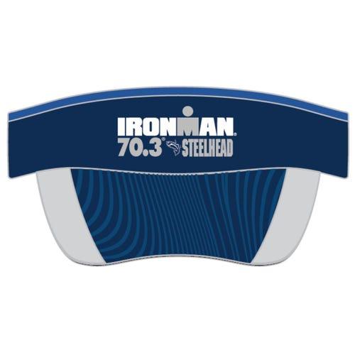 IRONMAN 70.3 STEELHEAD EVENT VISOR - BLUE