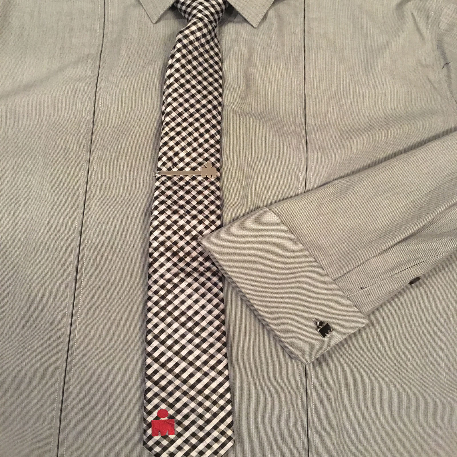 IRONMAN M-DOT Gingham Tie