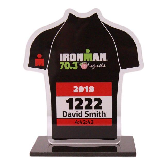 IRONMAN & 70.3 Race Bib Trophy
