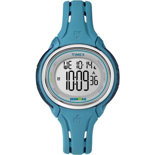 IRONMAN Timex 50 Lap Mid Size Sleek Watch - Blue
