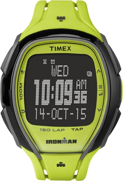 IRONMAN Timex 150 Lap Full Sleek Watch - Lime Green