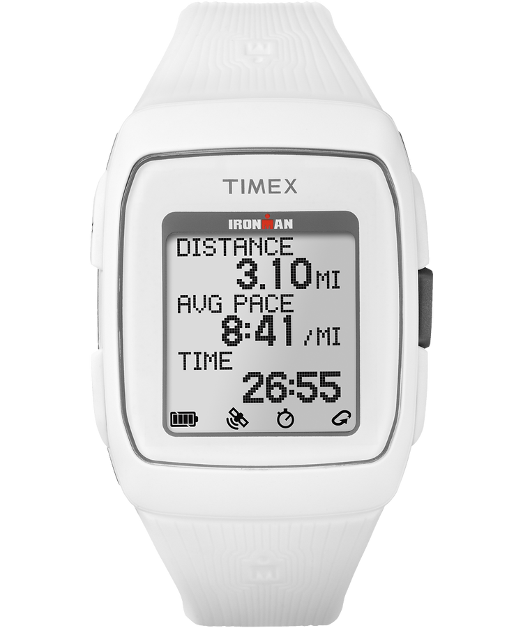 IRONMAN TIMEX GPS Watch  - White