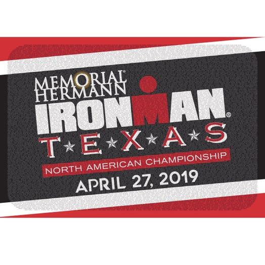 IRONMAN TEXAS 2019 EVENT NAME SHAMMY