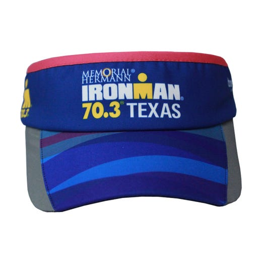 IRONMAN 70.3 Texas 2019 Event Visor - Blue