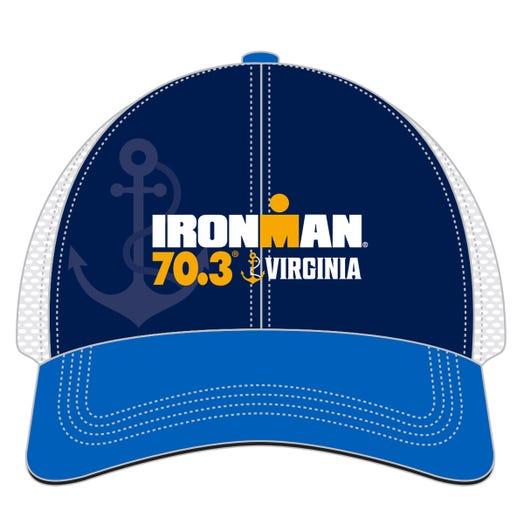 IRONMAN 70.3 VIRGINIA EVENT TRUCKER - BLUE