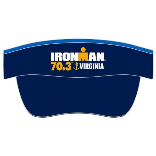 IRONMAN 70.3 VIRGINIA EVENT VISOR - BLUE