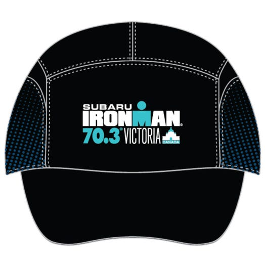 IRONMAN 70.3 VICTORIA EVENT TECH HAT - NAVY