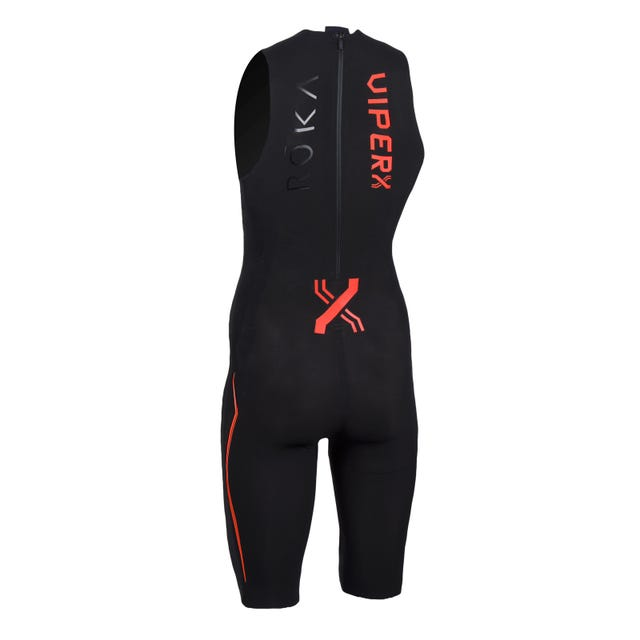 IRONMAN ROKA Men's Viper X Swimskin - Red