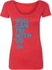 Women For Tri – You Can Tri with US Scoop Neck Tee - Red
