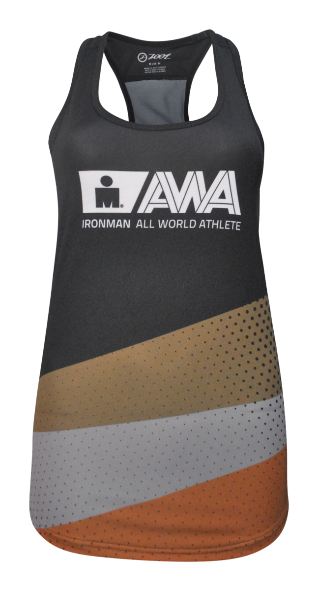 IRONMAN Women's All World Athlete Singlet - Black