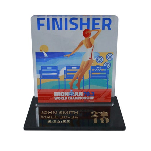 2019 IRONMAN 70.3 World Championship Trophy