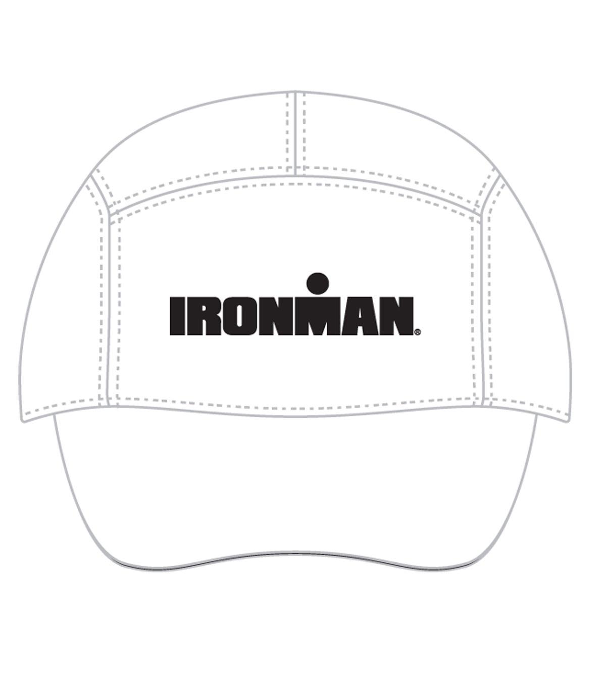 Florida Ironman 70.3 Finisher White Grey Hat