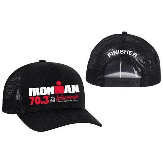 IRONMAN 70.3 Wisconsin Finisher Custom Event Trucker Hat