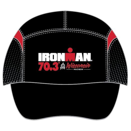 IRONMAN 70.3 WISCONSIN EVENT TECH HAT - BLACK