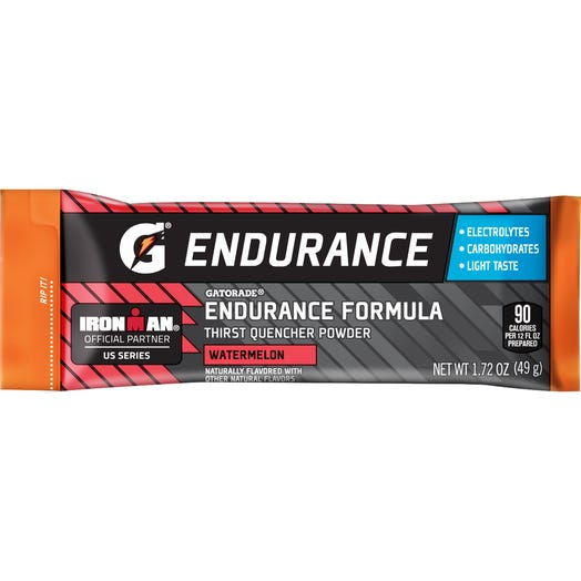 Gatorade Endurance Formula Watermelon Single Serve Powder (12 single serve powder sticks)