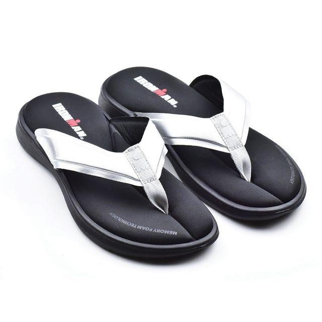 IRONMAN Women's LANI Sandals - Metallic Silver
