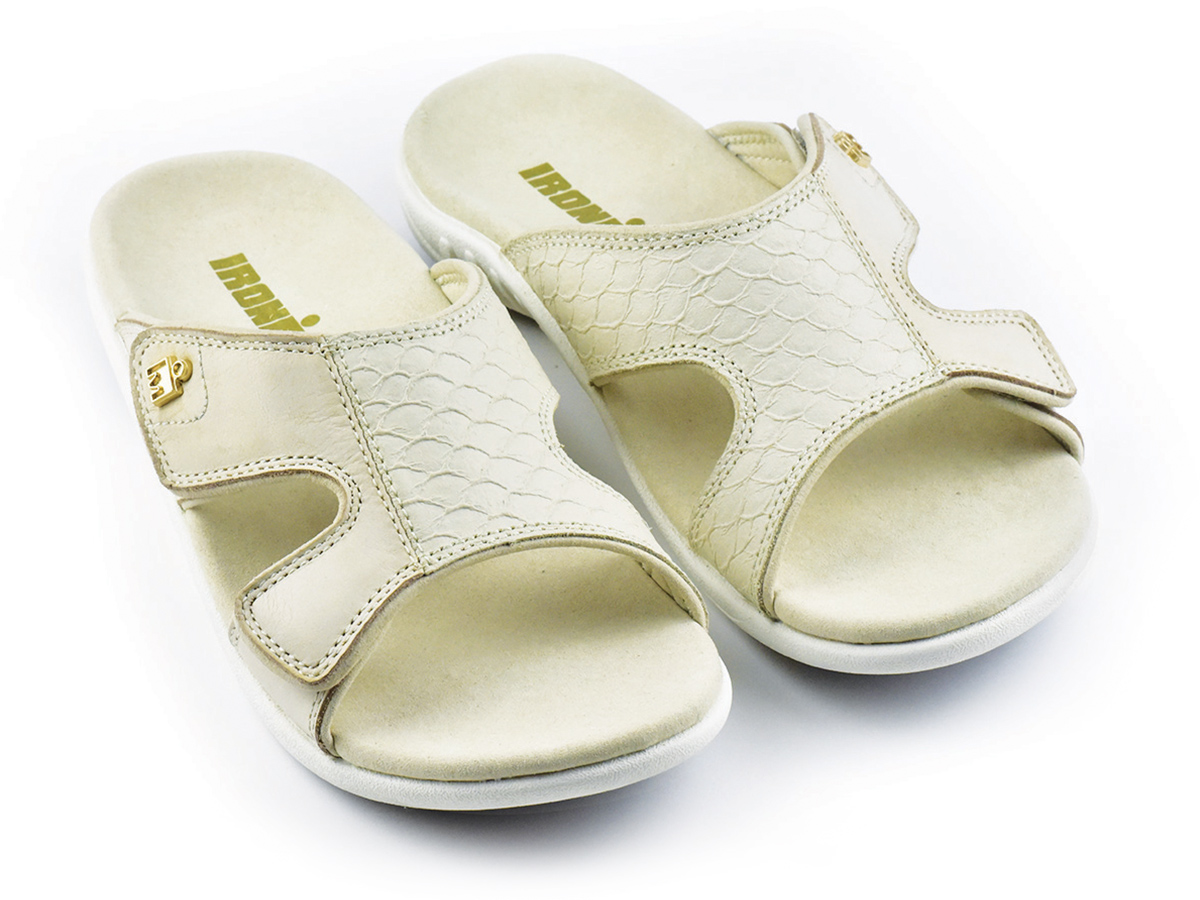 IRONMAN Women's 'OHANA Slide Sandals - Saddle Tan